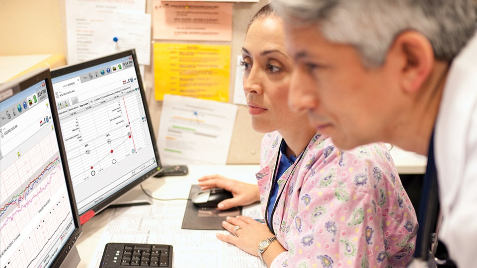 Monitor patient data