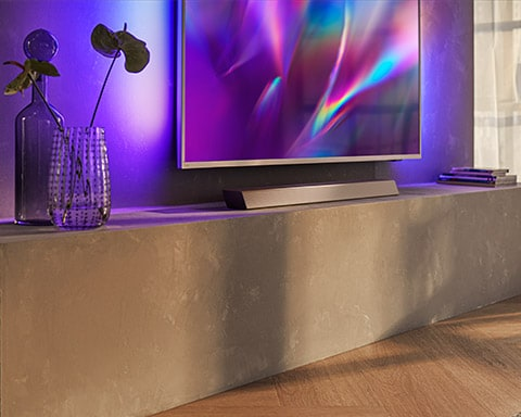 Philips soundbar-systemer til TV-en