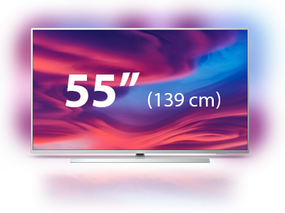 Televisor Smart TV Philips da Performance Series de 55 polegadas